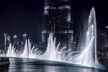 آبنمای دبی (the Dubai Fountain)